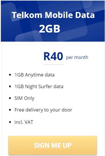 Stay Connected On The Move With Telkom Mobile Data Deals